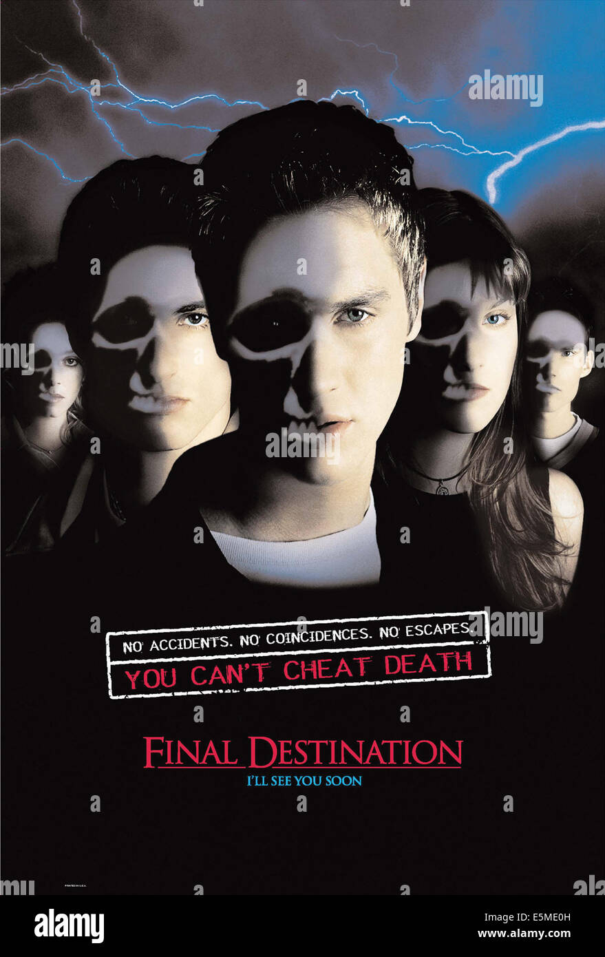 FINAL DESTINATION, 2000. (c) New Line Cinema/ Courtesy: Everett Collection. - Stock Image