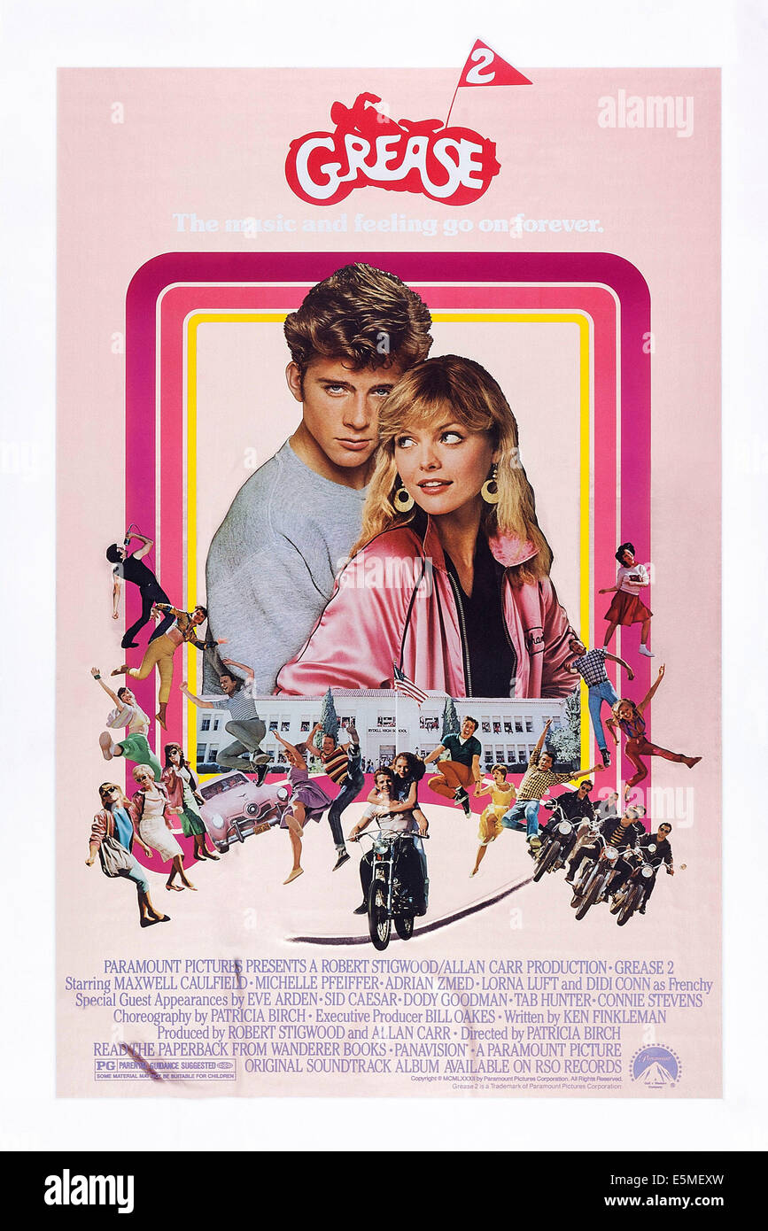 Grease Poster High Resolution Stock Photography And Images Alamy