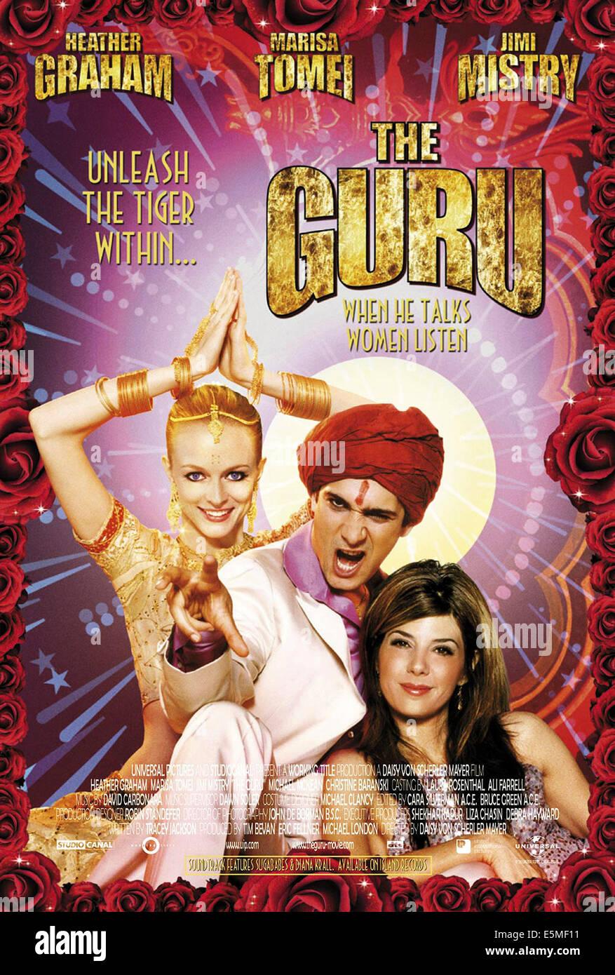 THE GURU, Heather Graham, Jimi Mistry, Marisa Tomei, 2002, (c) Universal/courtesy Everett Collection - Stock Image