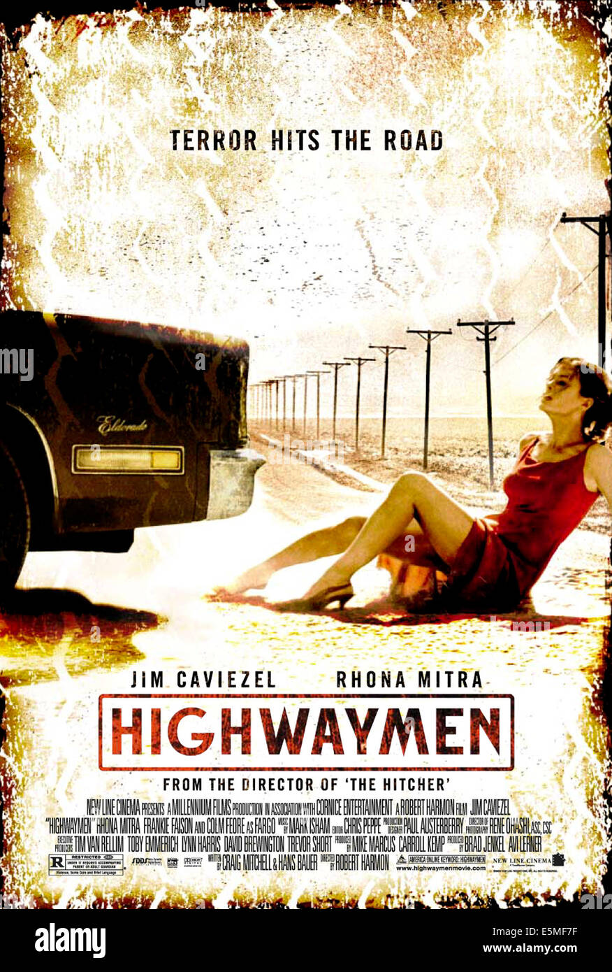 HIGHWAYMEN, 2003, (c) New Line/courtesy Everett Collection - Stock Image