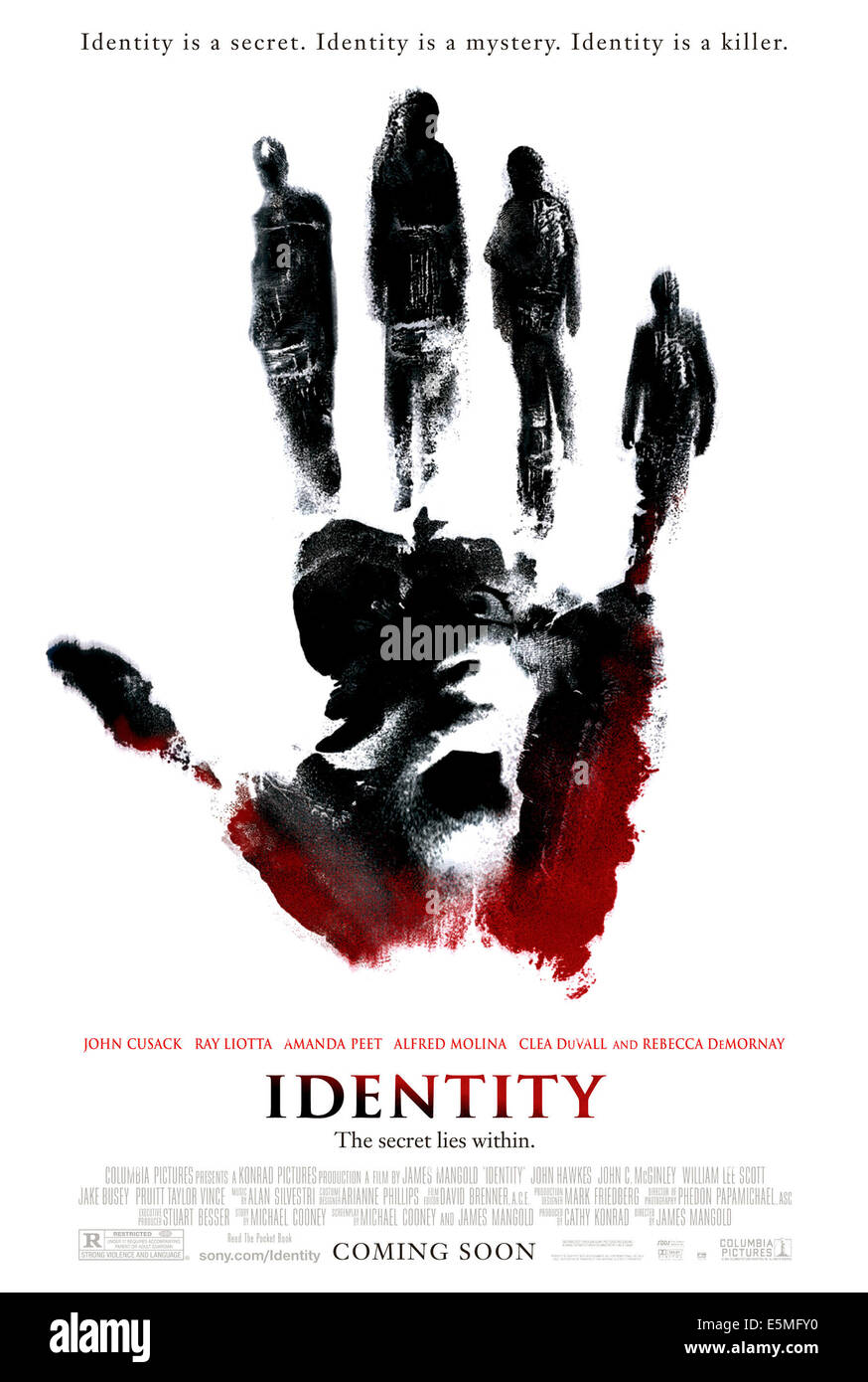IDENTITY, 2003, (c) Columbia/courtesy Everett Collection - Stock Image
