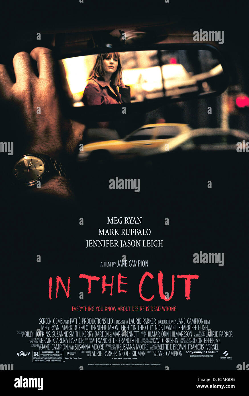 IN THE CUT, 2003, (c) Screen Gems/courtesy Everett Collection - Stock Image