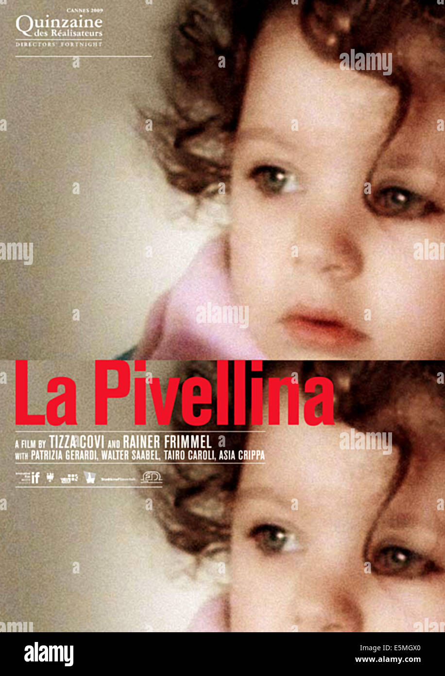 LITTLE GIRL, (aka LA PIVELLINA, aka NON E ANCORA DOMANI), Asia Crippa, 2009. ©Officine UBU/Courtesy Everett - Stock Image