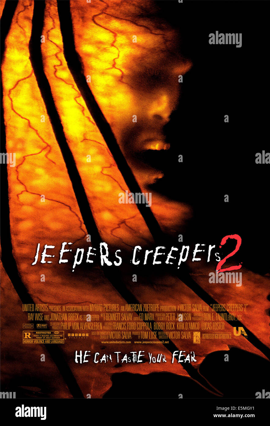JEEPERS CREEPERS 2, 2003, (c) United Artists/courtesy Everett Collection - Stock Image