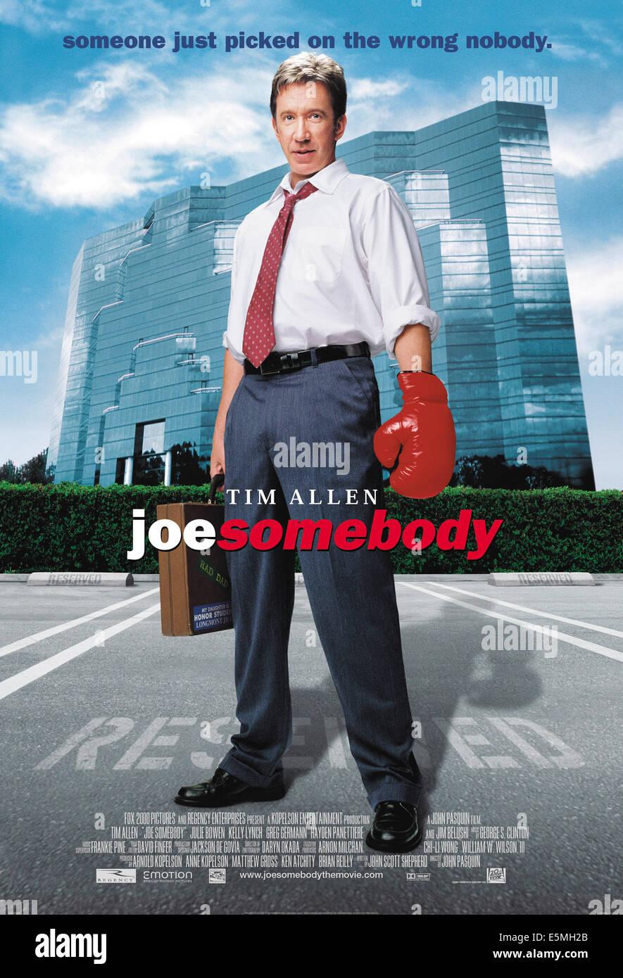 JOE SOMEBODY, Tim Allen, 2001, TM & Copyright (c) 20th Century Fox Film Corp. All rights reserved. - Stock Image