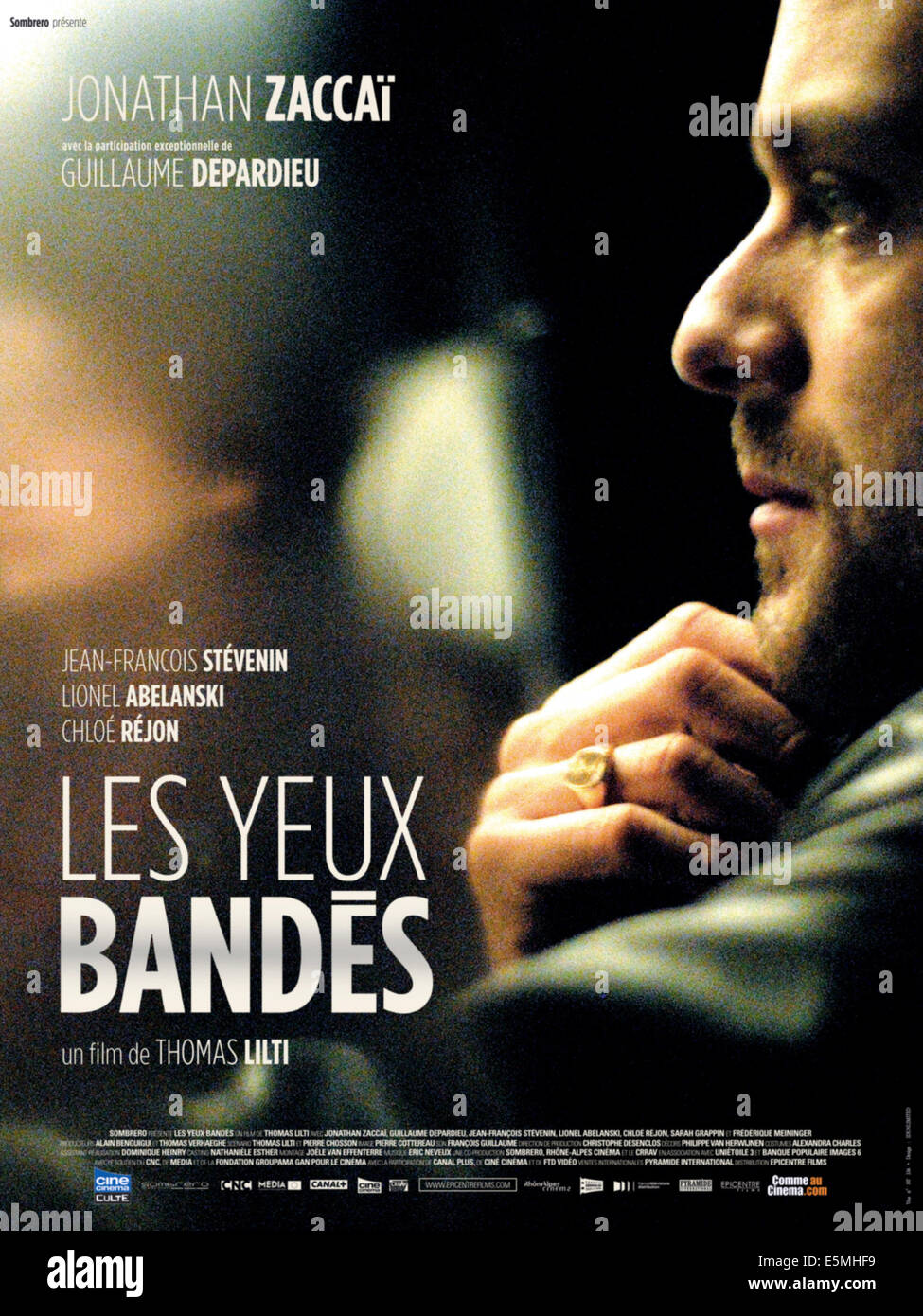 LES YEUX BANDES, French poster art, Jonathan Zaccai, 2008. ©Epicentre Films