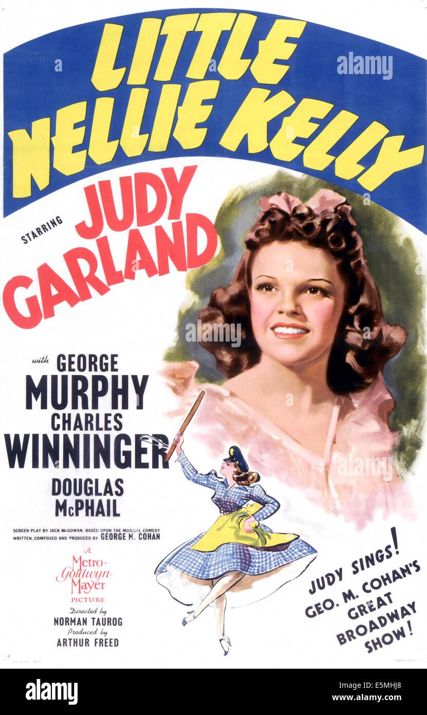 LITTLE NELLIE KELLY, Judy Garland, 1940 - Stock Image