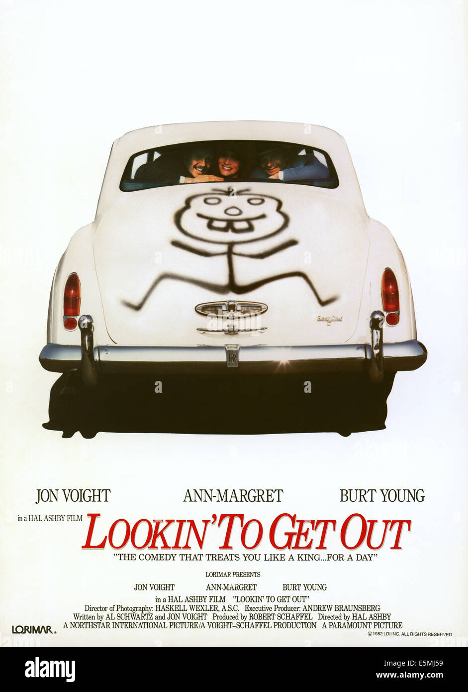 LOOKIN' TO GET OUT, Burt Young, Ann-Margret, Jon Voight, 1982, (c) Paramount/courtesy Everett Collection - Stock Image
