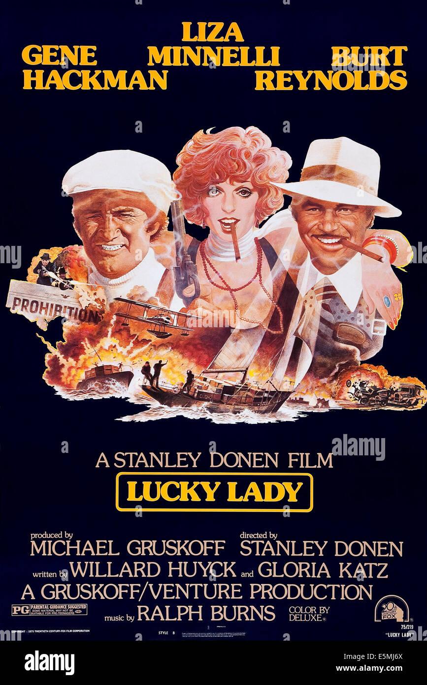 Abenteuer auf der lucky lady