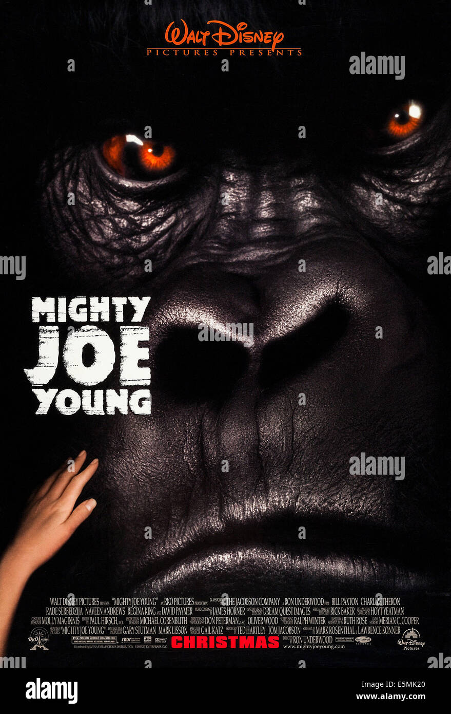 MIGHTY JOE YOUNG, US advance poster art, 1998, © Buena Vista/courtesy Everett Collection - Stock Image