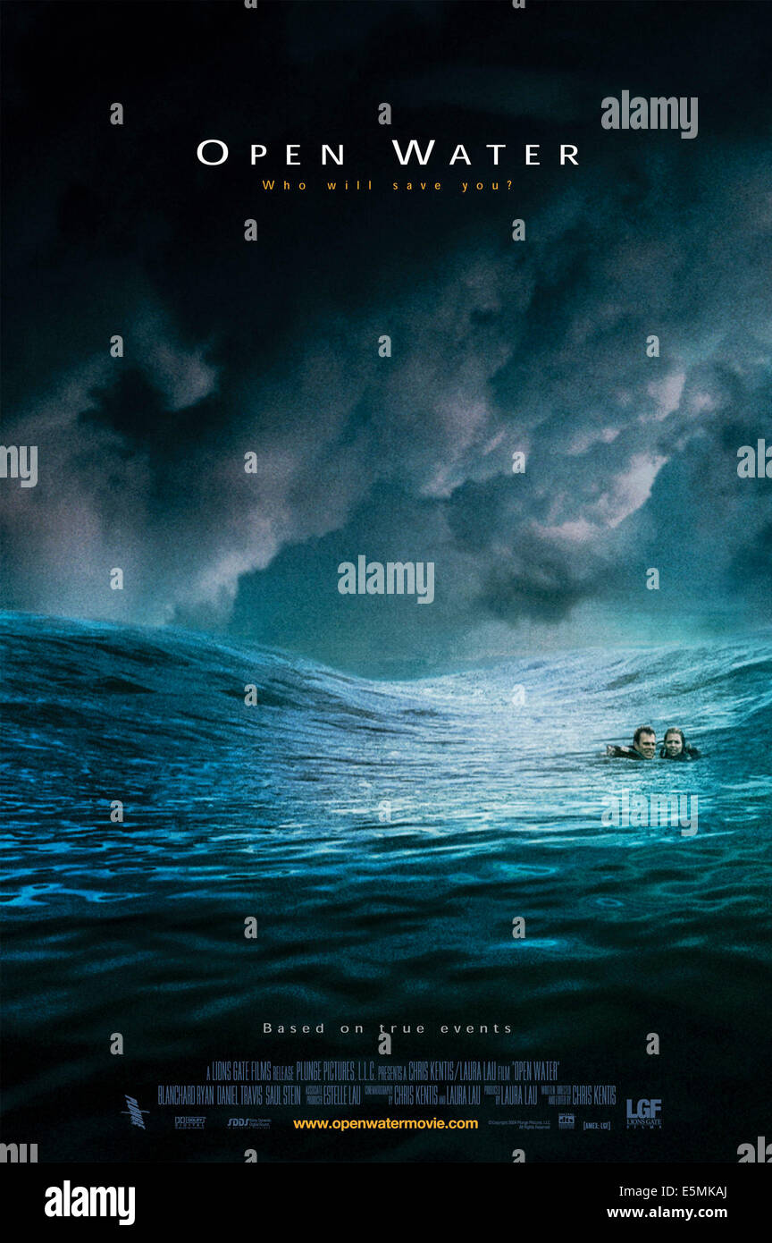 OPEN WATER, 2003, (c) Lions Gate/courtesy Everett Collection - Stock Image