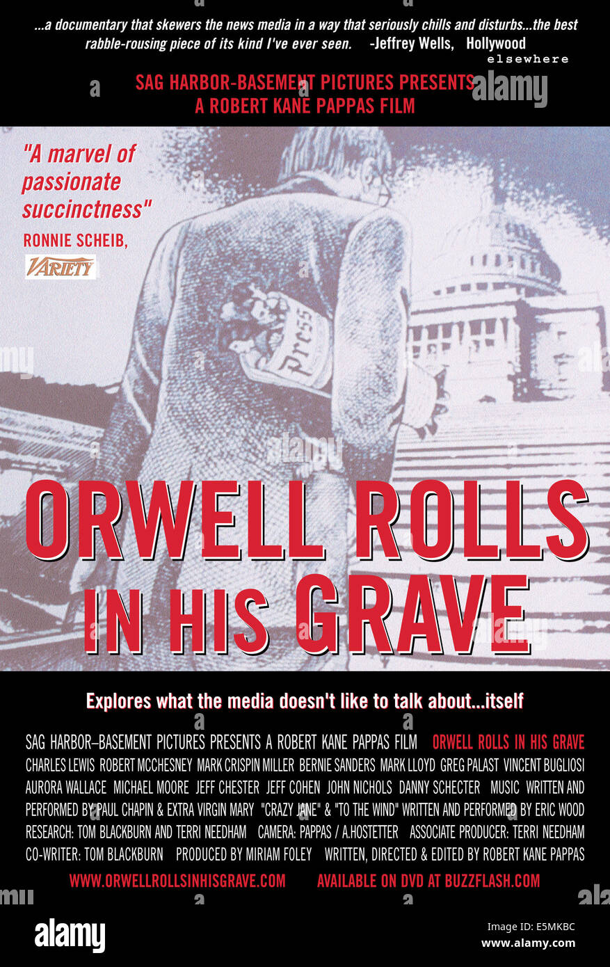 ORWELL ROLLS IN HIS GRAVE, 2003, (c) Sag Harbor-Basement/courtesy Everett Collection - Stock Image