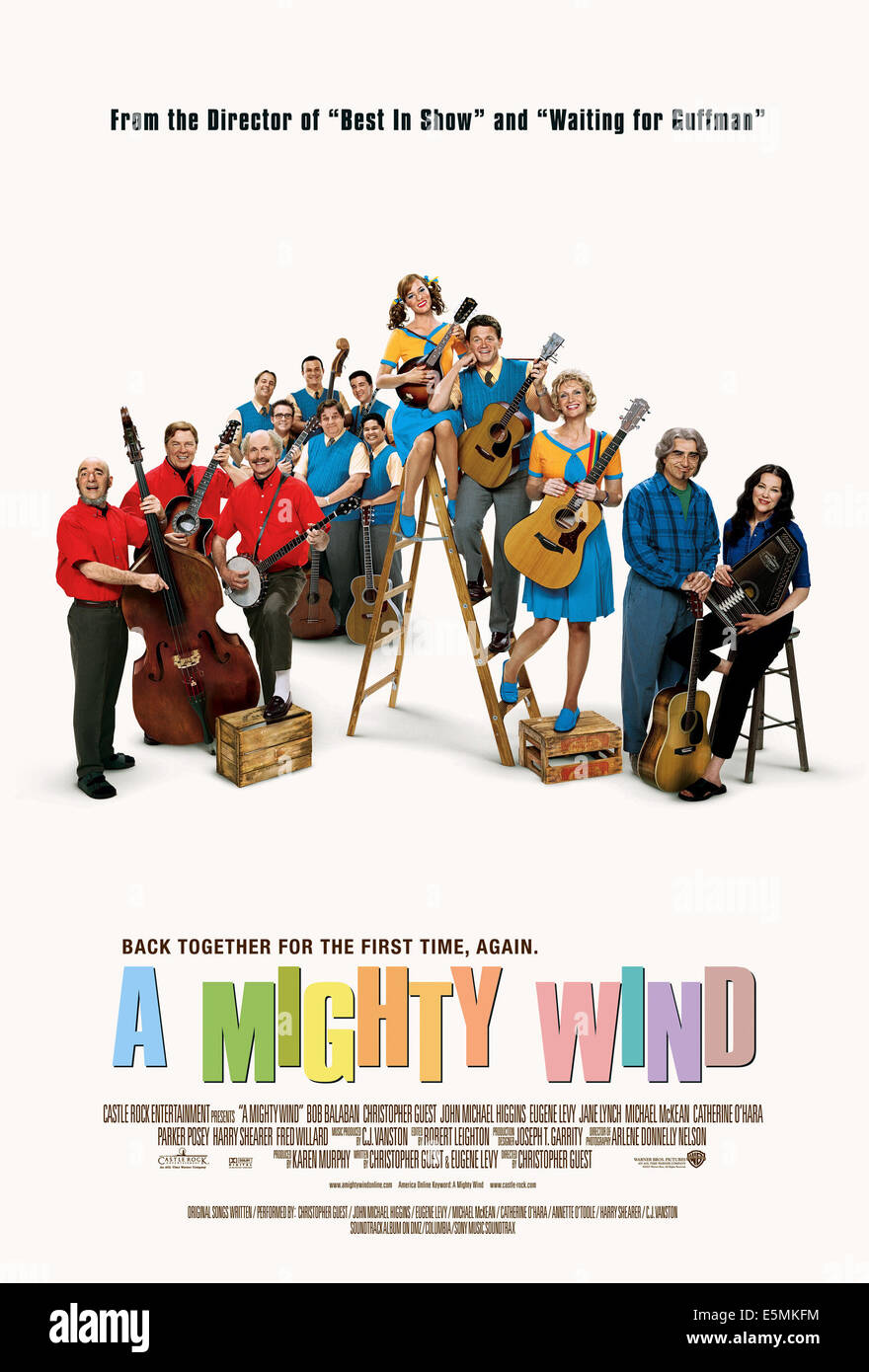 A MIGHTY WIND, 2003, (c) Warner Brothers/courtesy Everett Collection - Stock Image