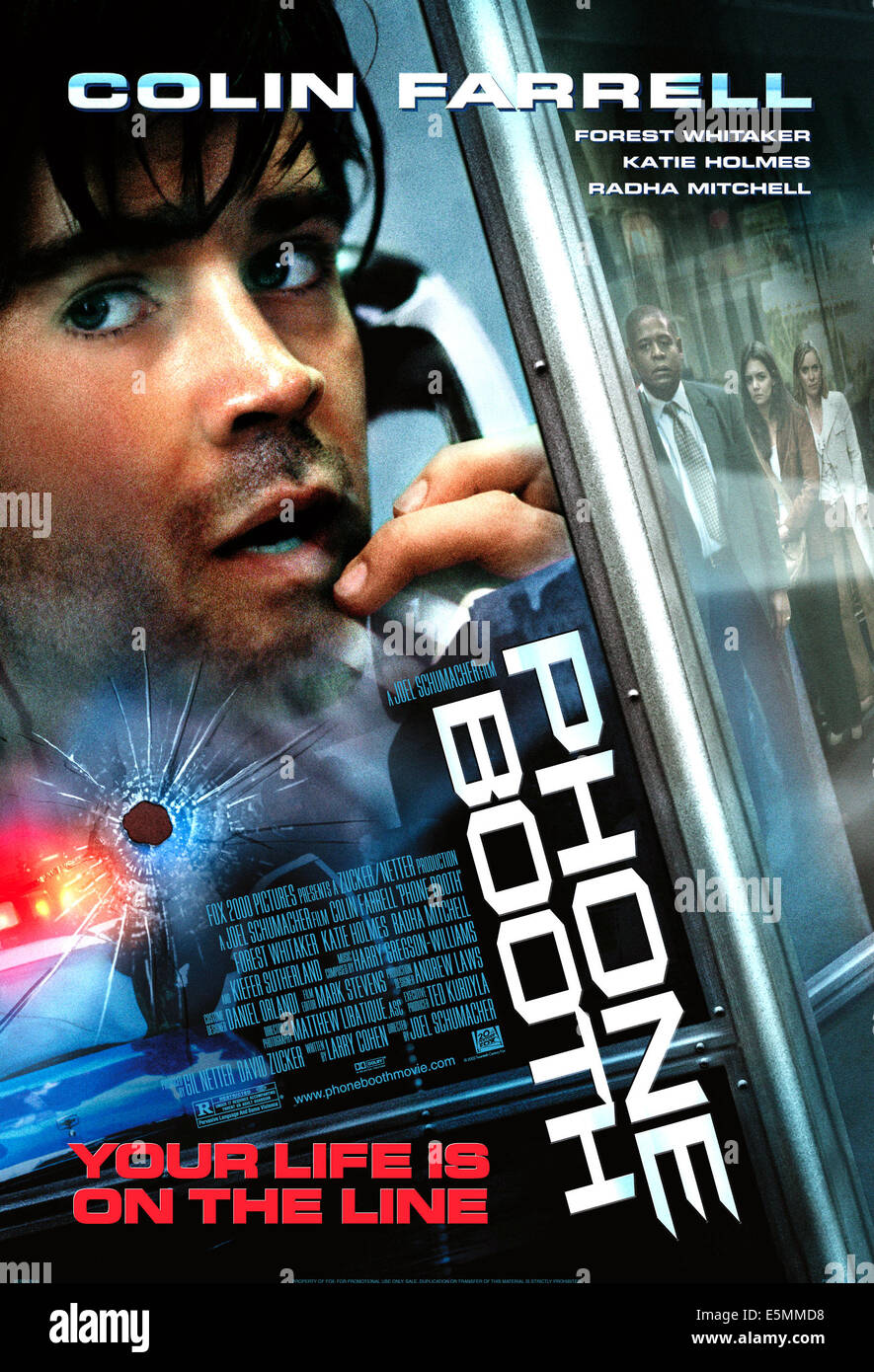 PHONE BOOTH, Colin Farrell, 2003, TM & Copyright (c) 20th Century Fox Film Corp. All rights reserved. - Stock Image