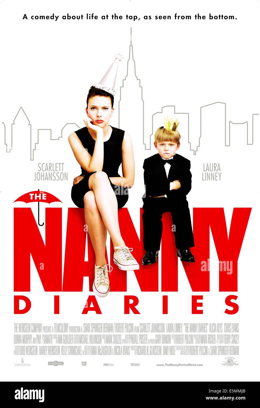 THE NANNY DIARIES, Scarlett Johansson, Nicholas Art, 2007. ©Weinstein Company/Courtesy Everett Collection - Stock Image