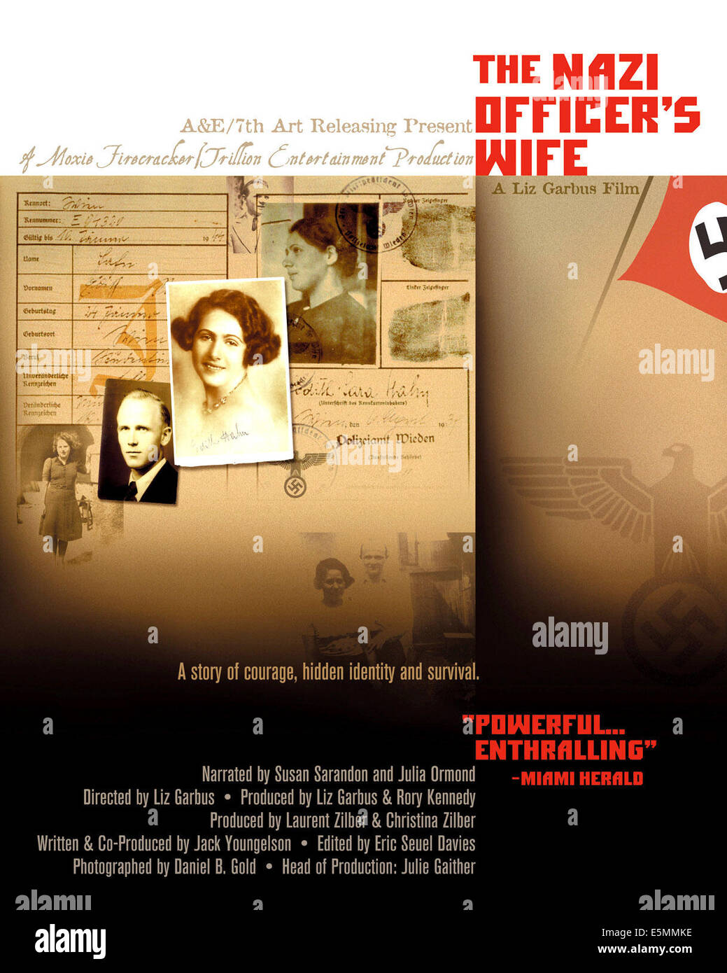 THE NAZI OFFICER'S WIFE, 2003 - Stock Image
