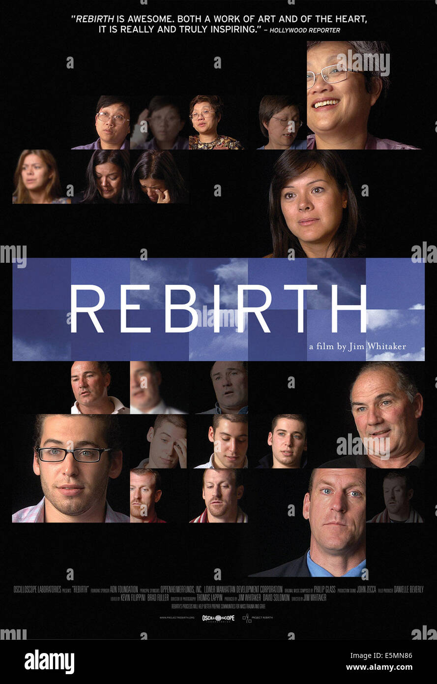 REBIRTH, US poster art, 2011, ©Oscilloscope Pictures/courtesy Everett Collection - Stock Image
