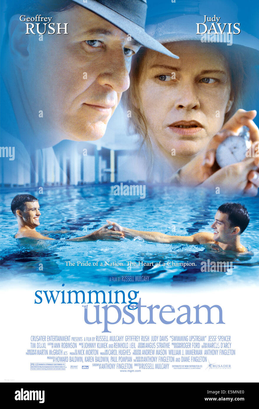 SWIMMING UPSTREAM, Geoffrey Rush, Judy Davis, 2003, (c) MGM/courtesy Everett Collection - Stock Image