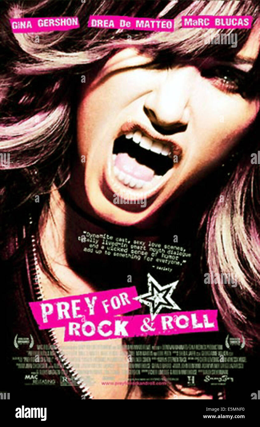 PREY FOR ROCK AND ROLL, Gina Gershon, 2003 - Stock Image
