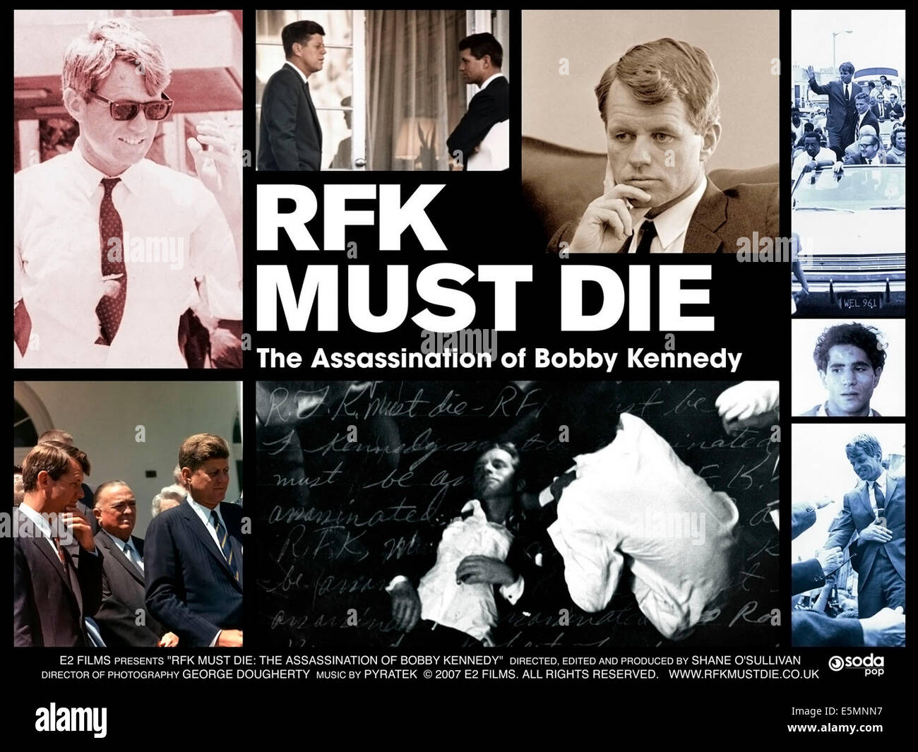 RFK MUST DIE: THE ASSASSINATION OF BOBBY KENNEDY, Robert F. Kennedy, 2007. ©MPI Home Video/courtesy Everett - Stock Image