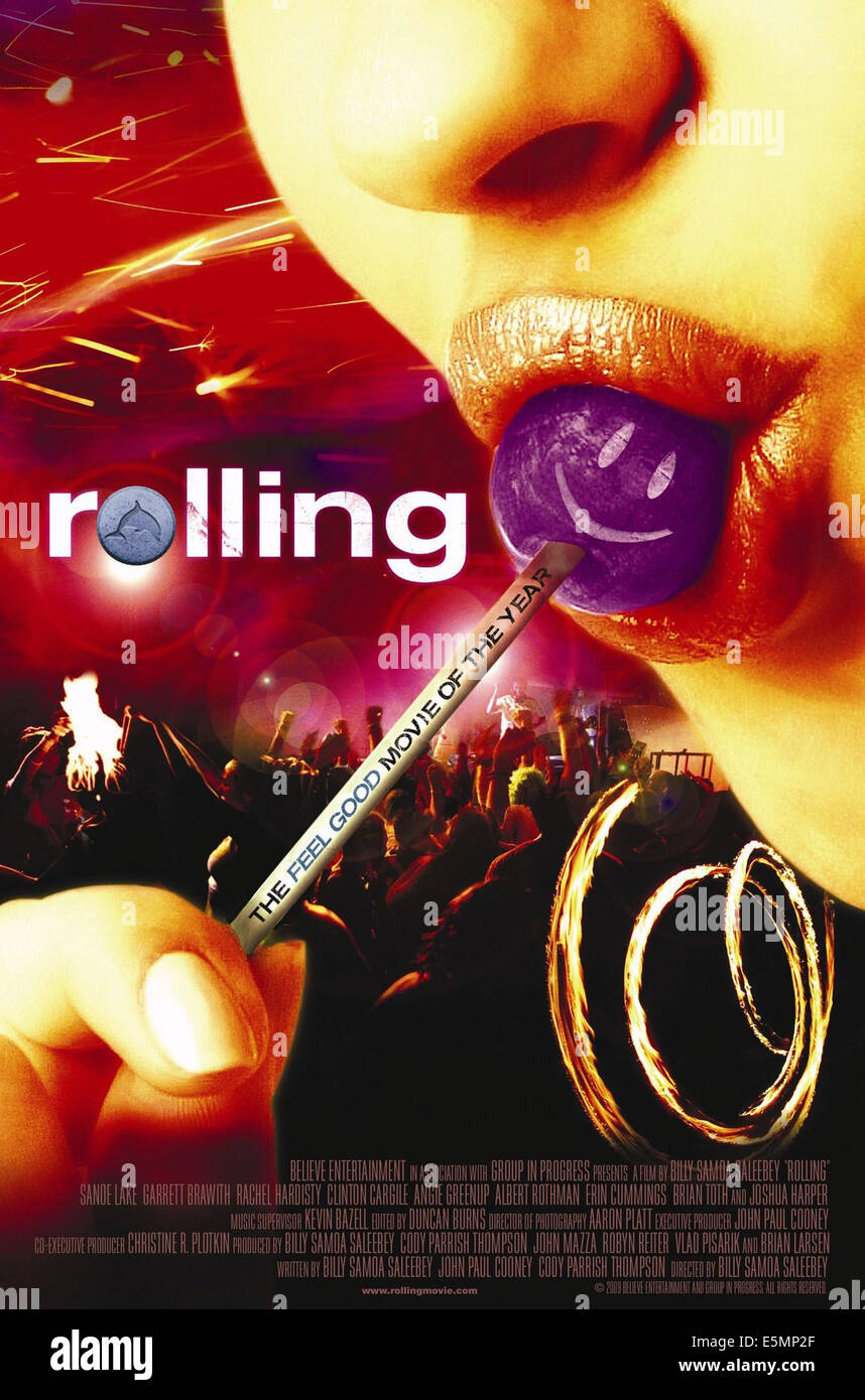 ROLLING, International poster art, 2007, ©Indican Pictures/courtesy Everett Collection - Stock Image