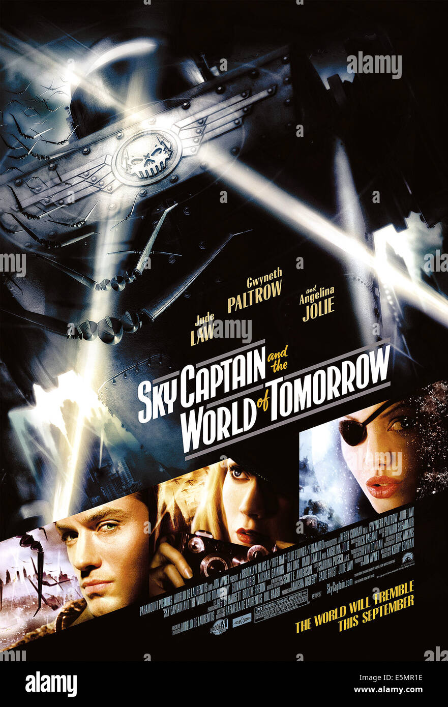 SKY CAPTAIN AND THE WORLD OF TOMORROW, 2004, (c) Paramount/courtesy Everett Collection - Stock Image