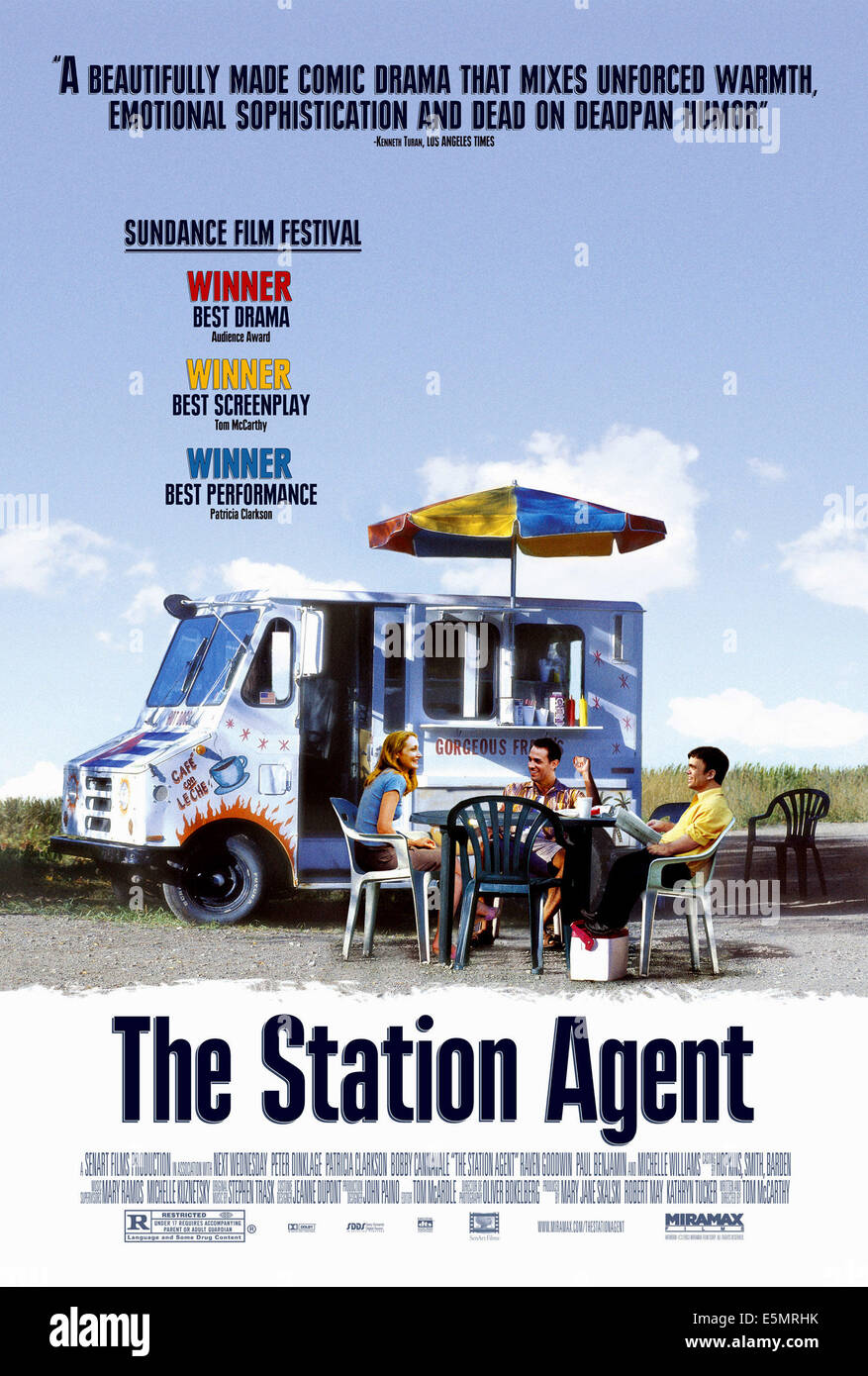 THE STATION AGENT, 2003, (c) Miramax/courtesy Everett Collection - Stock Image