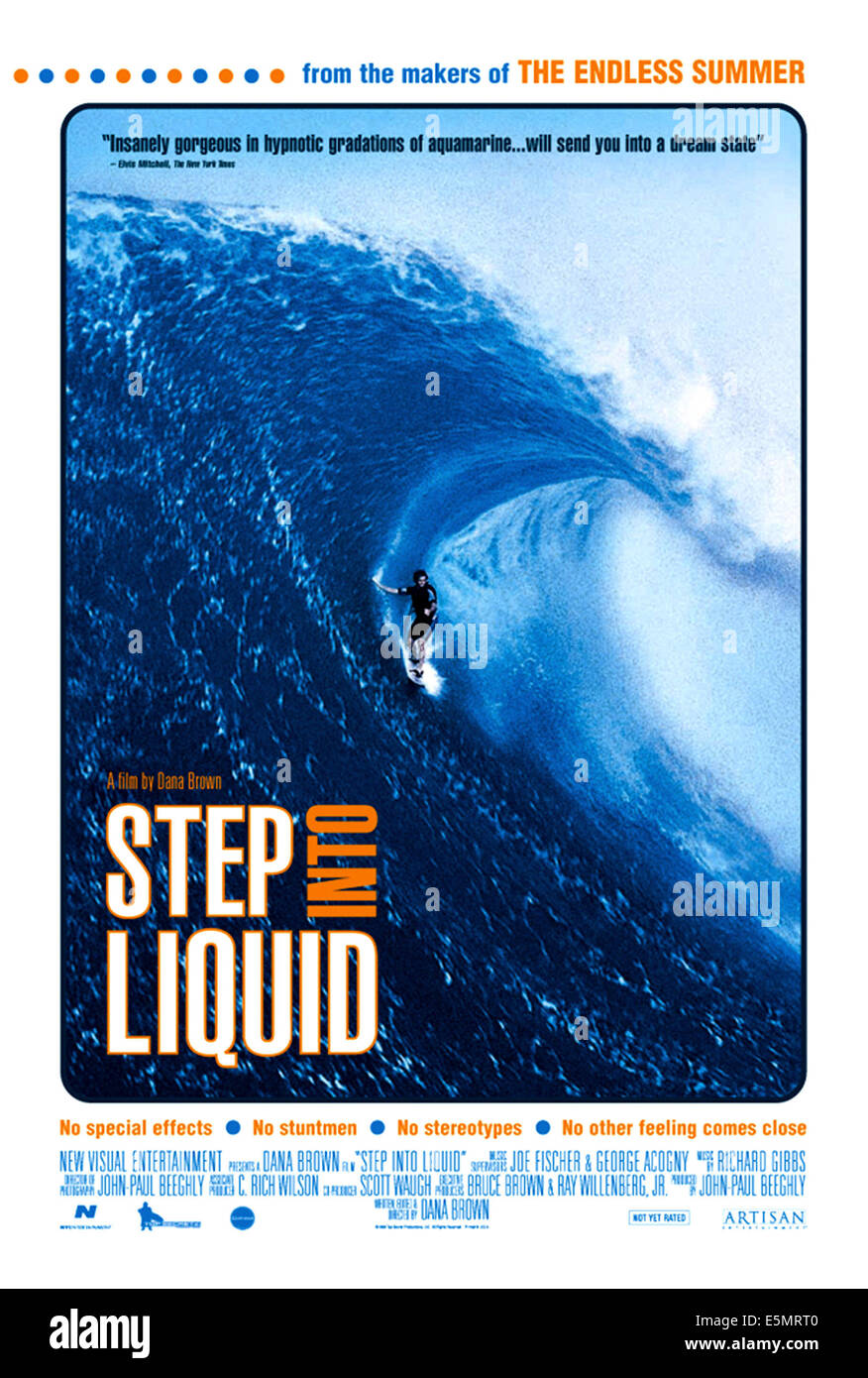 STEP INTO LIQUID, 2003 - Stock Image