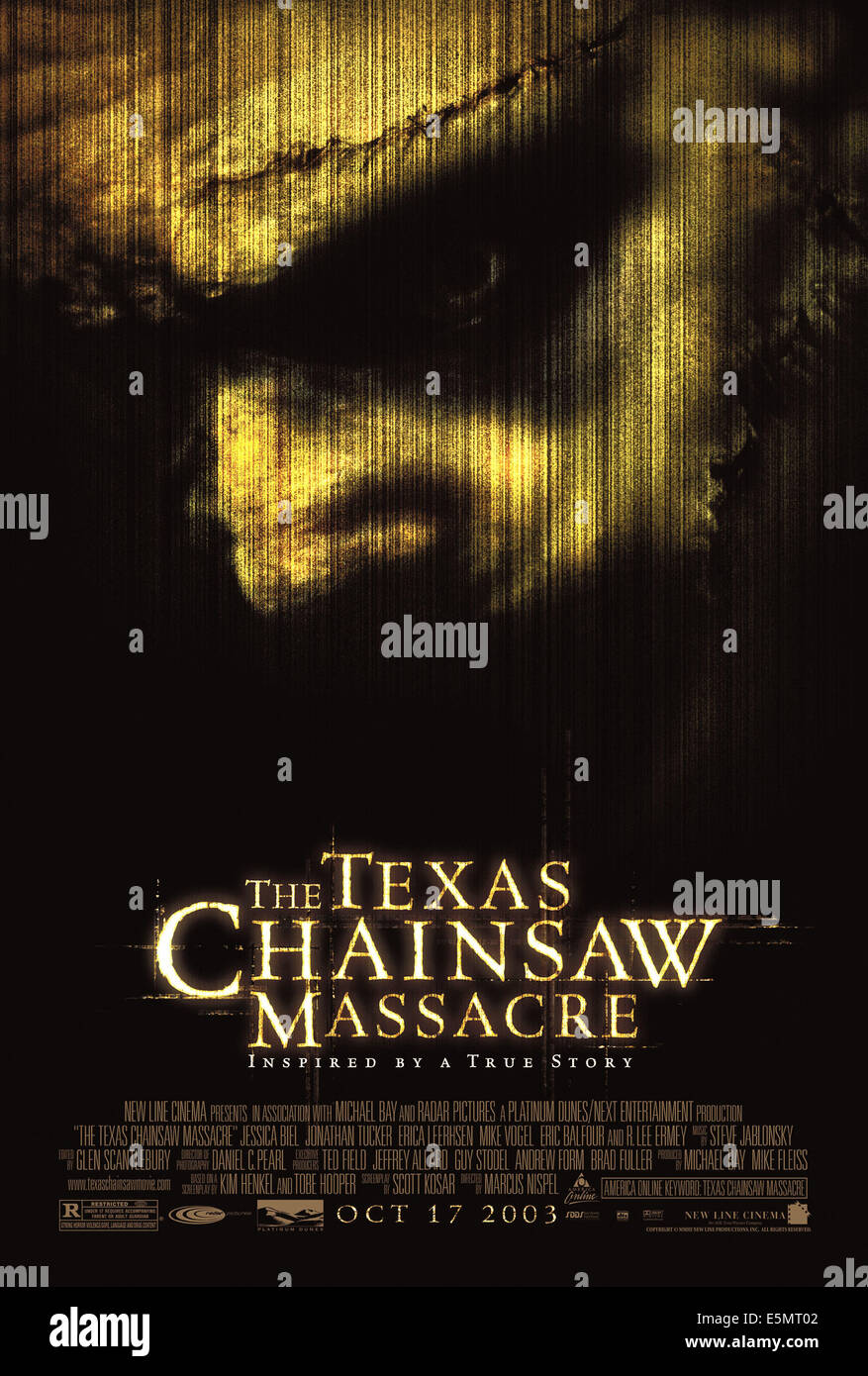 THE TEXAS CHAINSAW MASSACRE, 2003, (c) New Line/courtesy Everett Collection - Stock Image