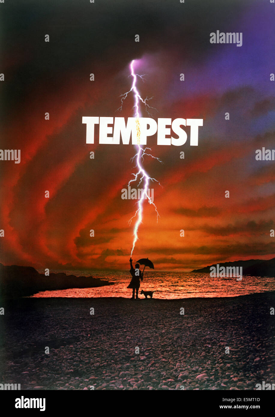 TEMPEST, 1982. ©Columbia/Courtesy Everett Collection - Stock Image