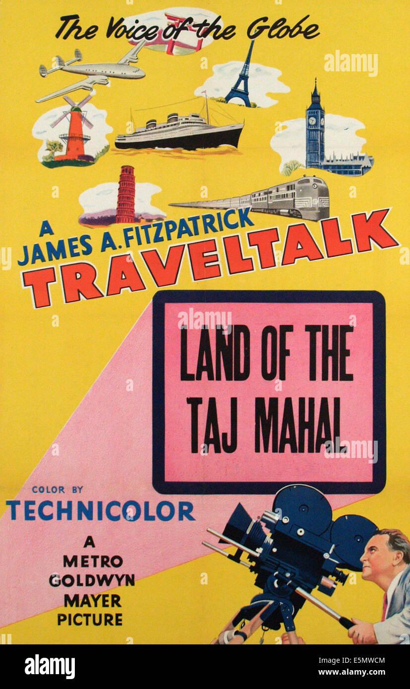 TRAVELTALK short, James A. Fitzpatrick, ca. 1930s - Stock Image