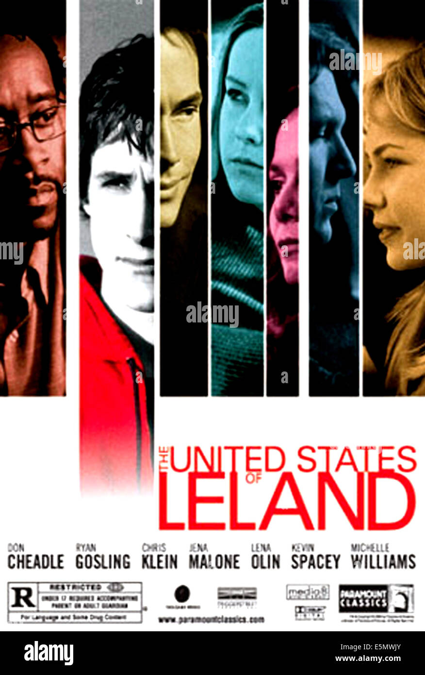 THE UNITED STATES OF LELAND, 2003, (c) Paramount Classics/courtesy Everett Collection - Stock Image