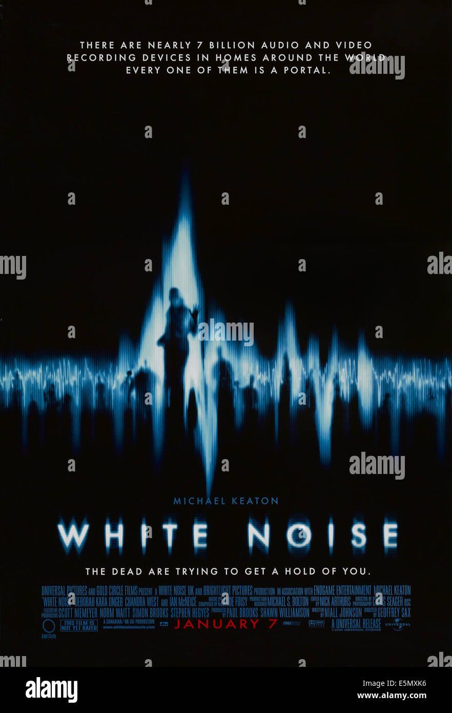 WHITE NOISE, US poster art, 2005. ©Universal/courtesy Everett Collection - Stock Image