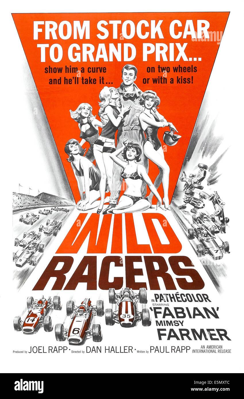 WILD RACERS, Fabian (overalls), 1968 - Stock Image