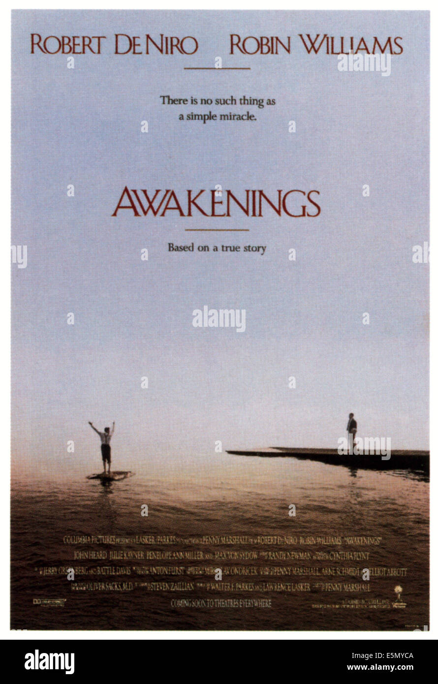 AWAKENINGS, 1990, ©Columbia Pictures/courtesy Everett Collection - Stock Image