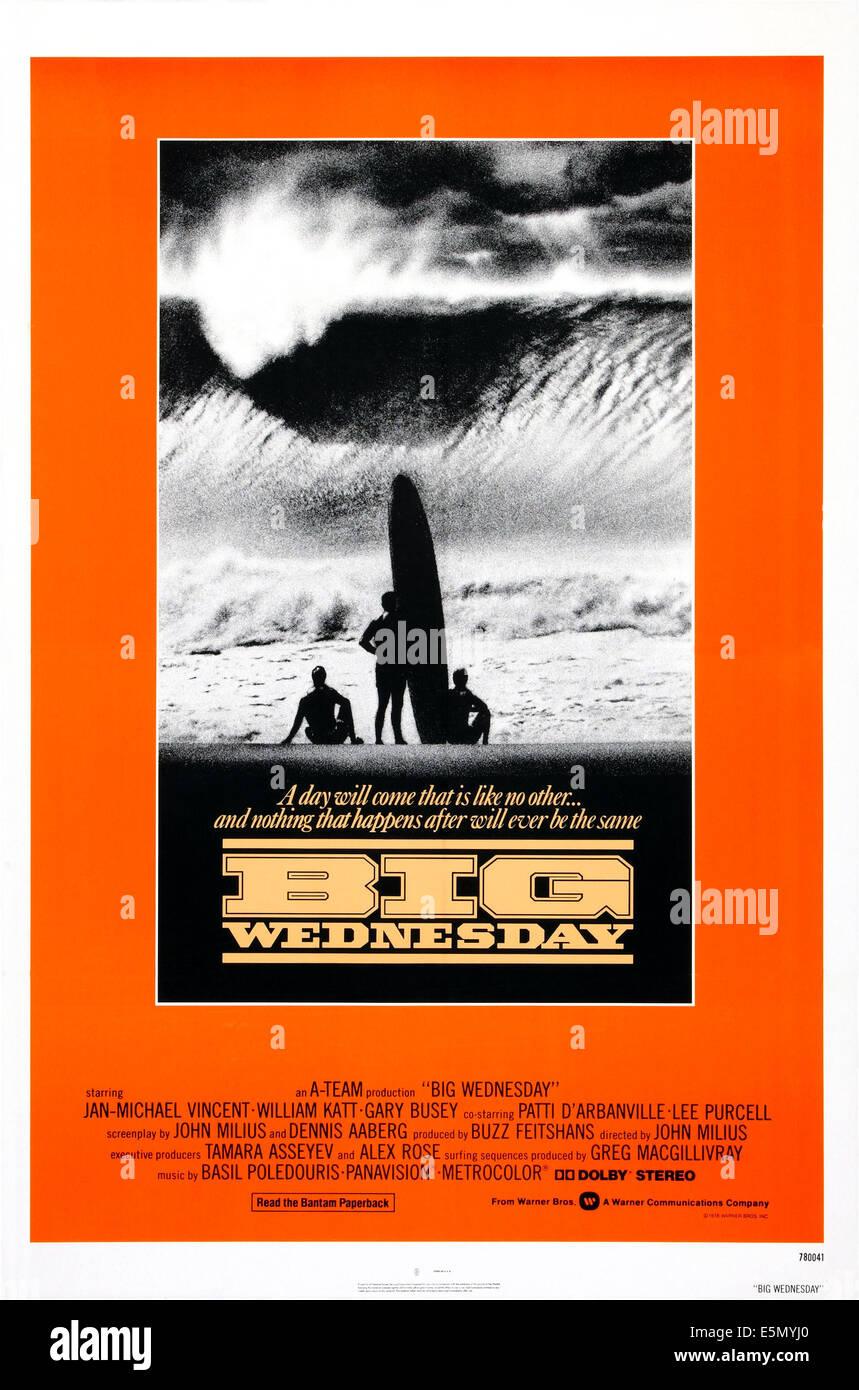 BIG WEDNESDAY, 1978. - Stock Image