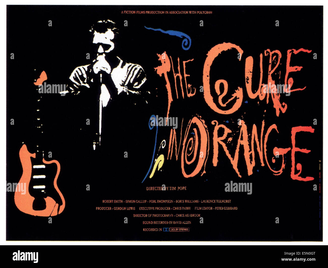 THE CURE IN ORANGE, 1987, ©Fiction/courtesy Everett Collection - Stock Image