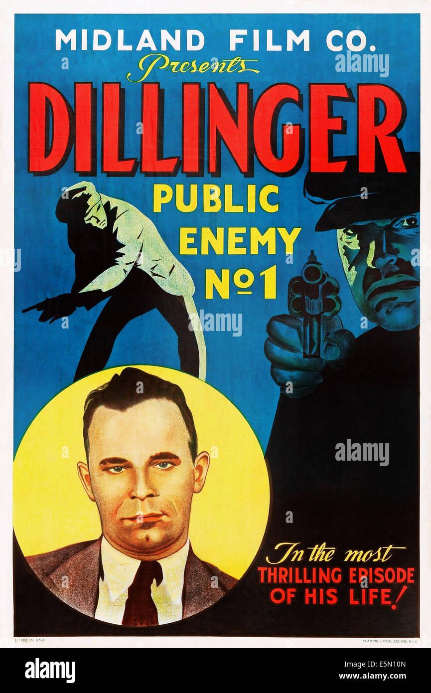 DILLINGER, John Dillinger, 1934 - Stock Image