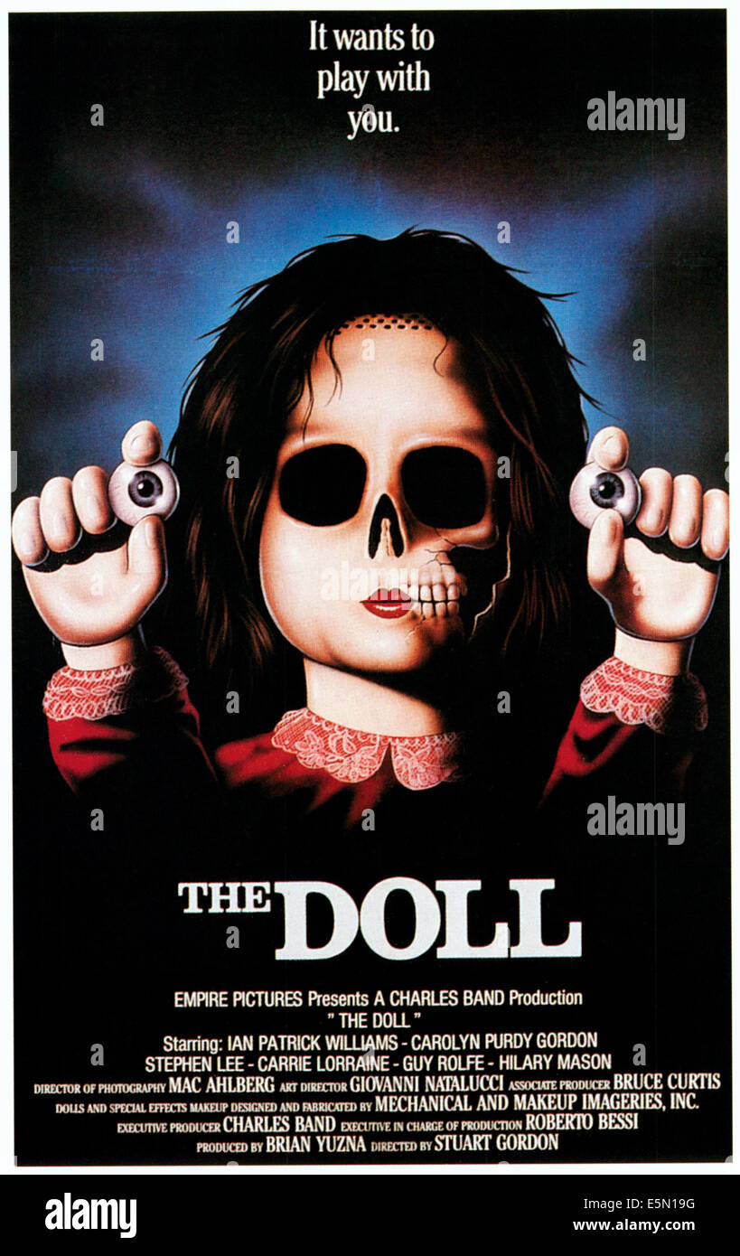 DOLLS, 1987, ©Empire Pictures/courtesy Everett Collection - Stock Image