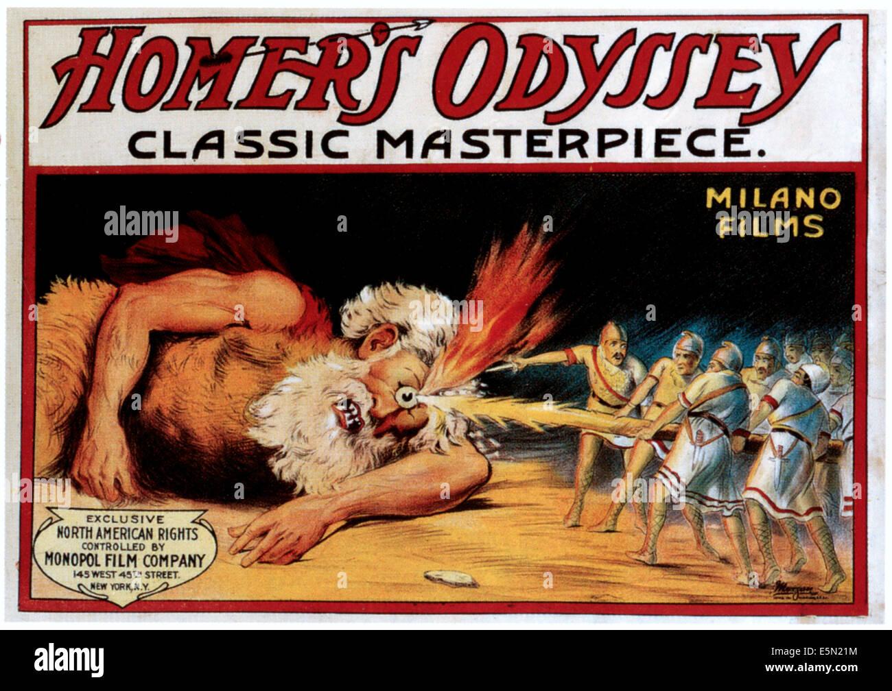 HOMER'S ODYSSEY, 1909 - Stock Image