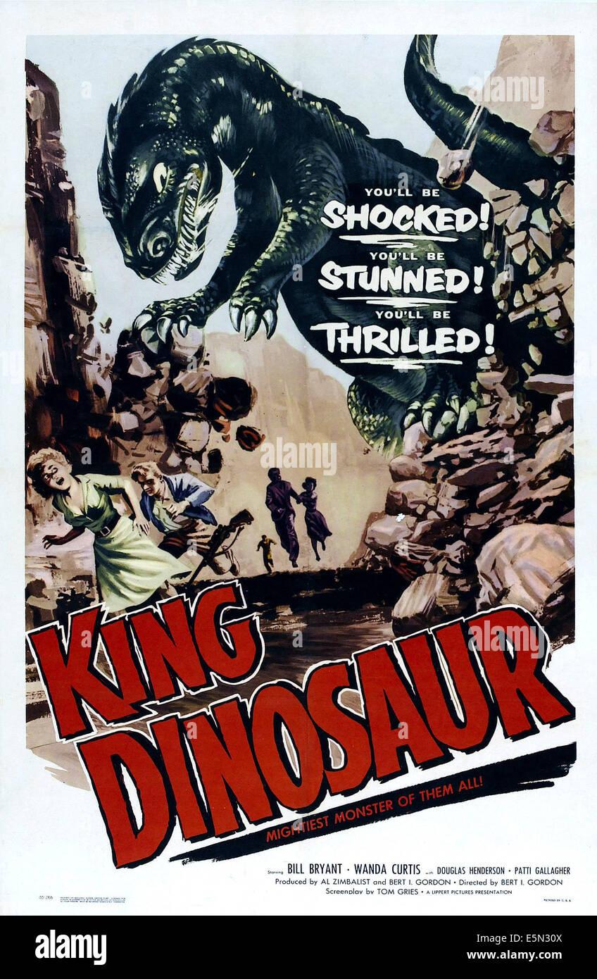 KING DINOSAUR, 1955. - Stock Image