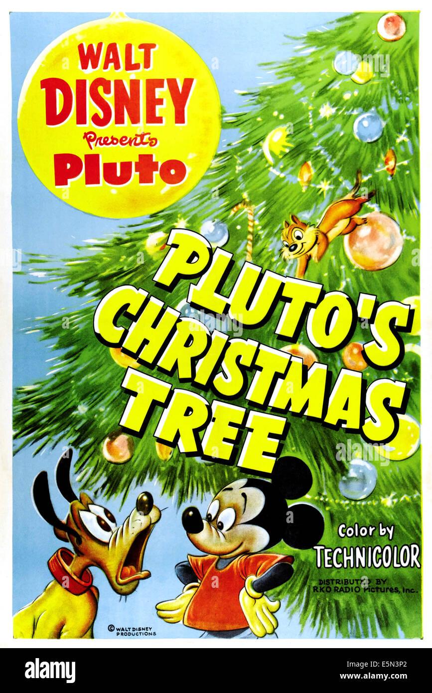 Plutos Christmas Tree.Pluto S Christmas Tree From Bottom Left Pluto Mickey