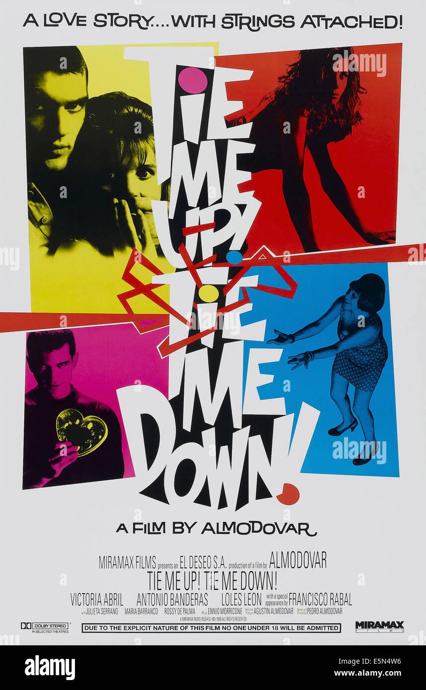 TIE ME UP TIE ME DOWN, 1990 - Stock Image