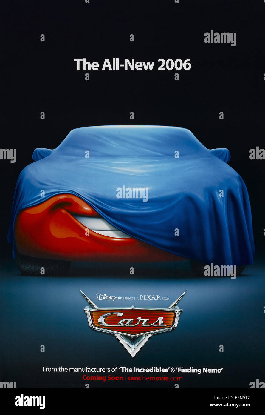 CARS, US advance poster art, 2006, © Walt Disney/courtesy Everett Collection - Stock Image