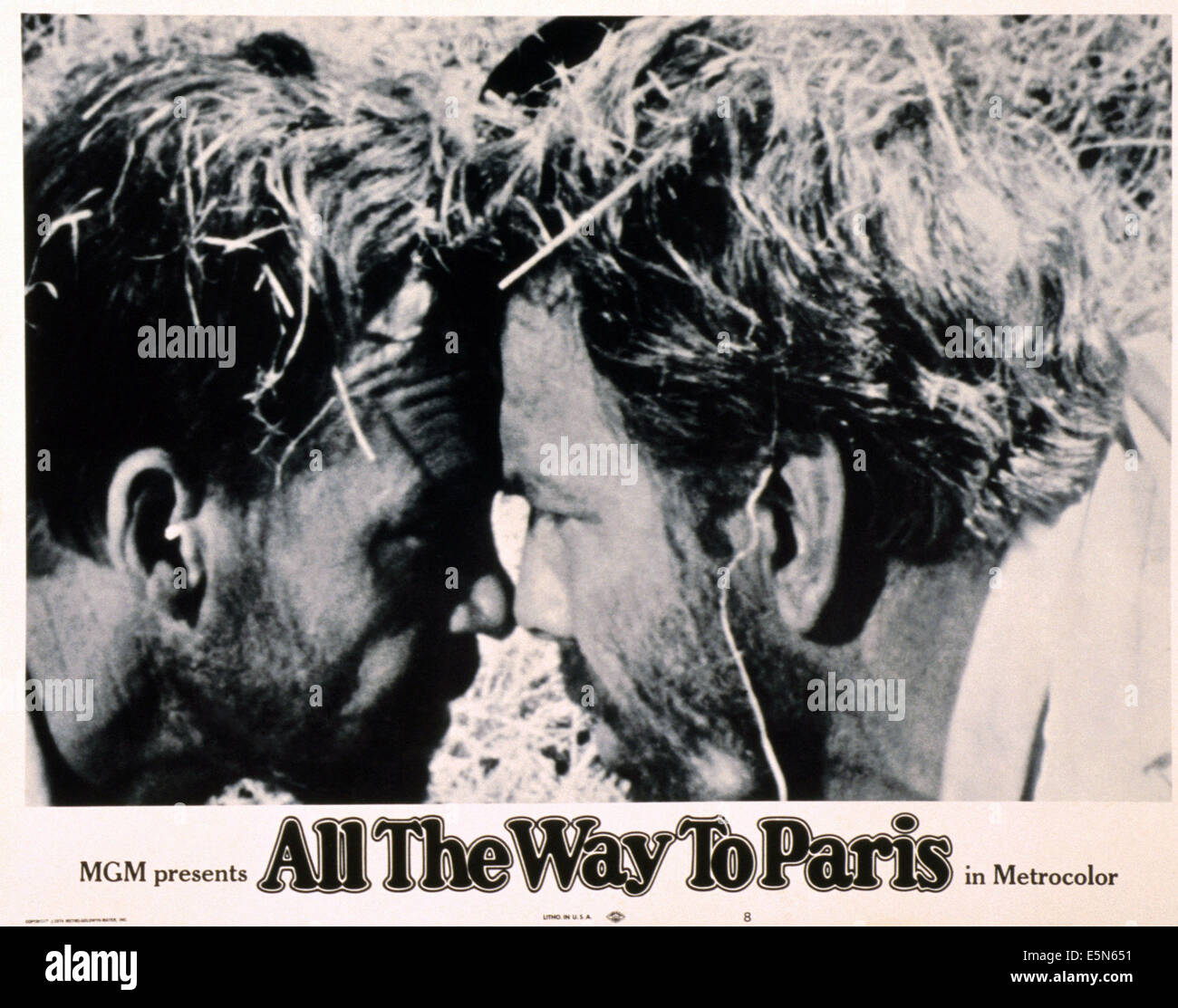 All The Way To Paris Jamie Uys Left 1966 Stock Photo 72380589