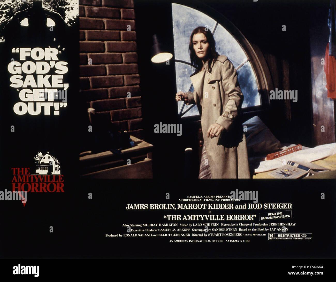 THE AMITYVILLE HORROR, Margot Kidder, 1979, (c) MGM/UA/courtesy Everett Collection - Stock Image