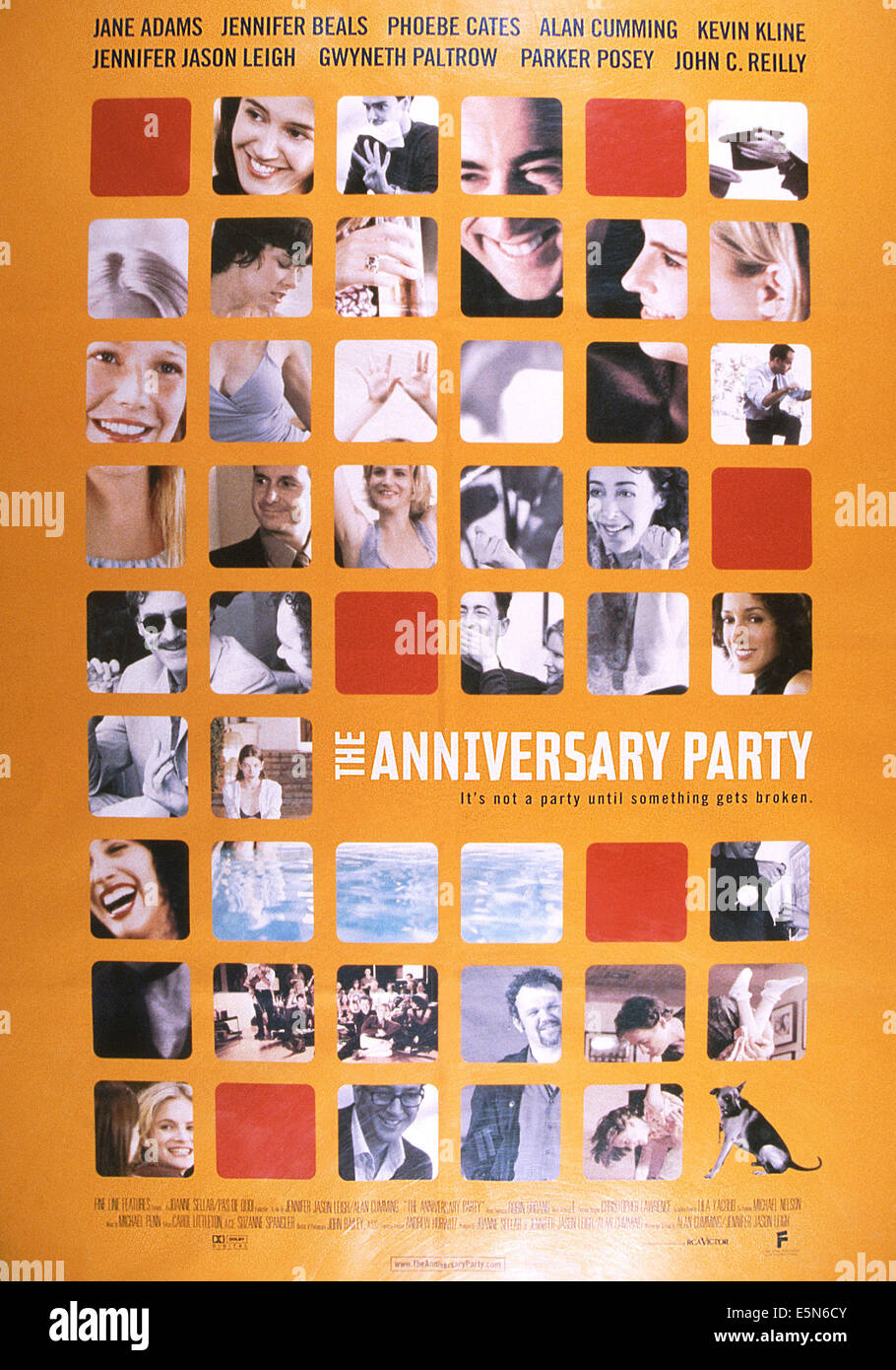 THE ANNIVERSARY PARTY, 2001, © Fine Line Features/courtesy Everett Collection - Stock Image