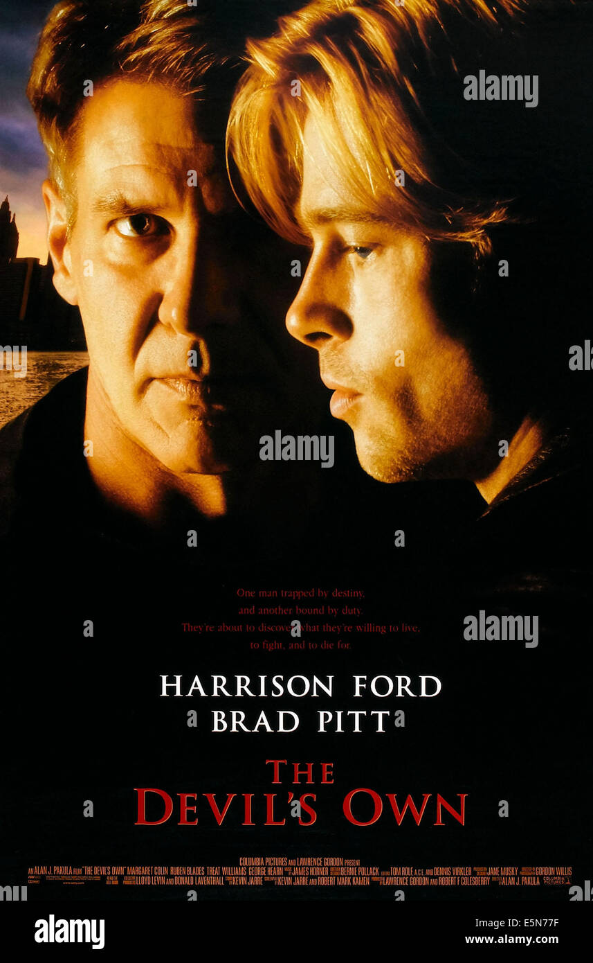 O Meara Ford >> Harrison Ford Brad Pitt Devils Stock Photos & Harrison Ford Brad Pitt Devils Stock Images - Alamy