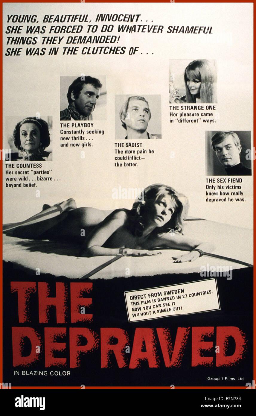 The Depraved Exponerad (1971)