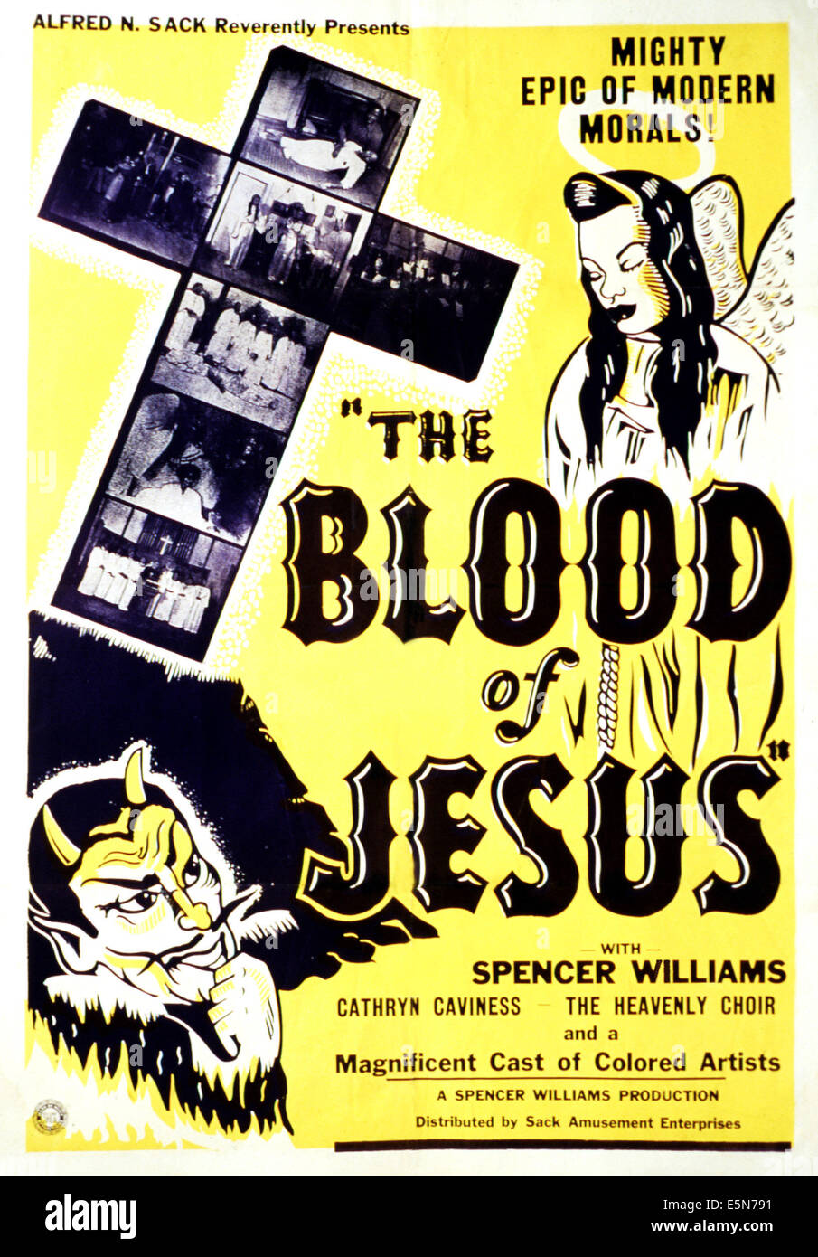 THE BLOOD OF JESUS, 1941 Stock Photo